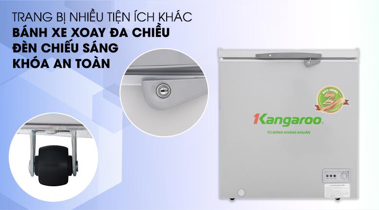 Tích hợp nhiều tiện ích cho người sử dụng - Tủ đông Kangaroo KG235VC1