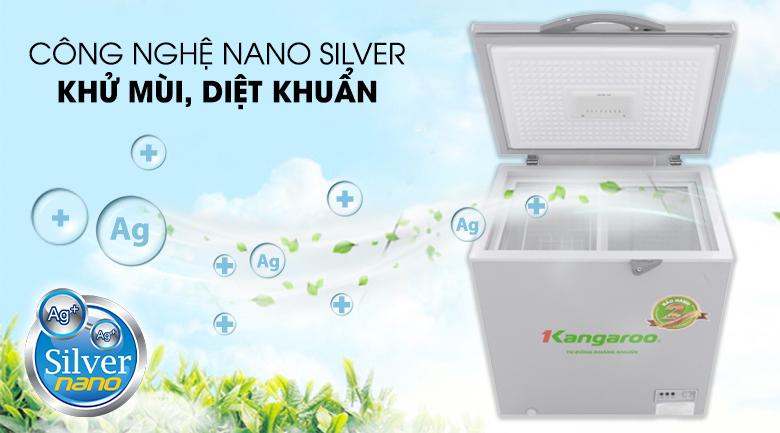 Công nghệ Nano Silver - Tủ đông Kangaroo KG235VC1
