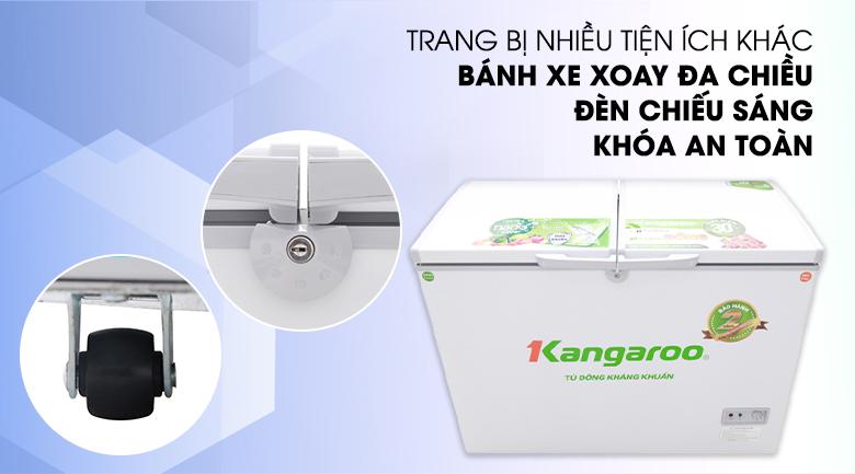 Nhiều tiện ích cho người sử dụng trên một sản phẩm - Tủ đông Kangaroo KG298C2