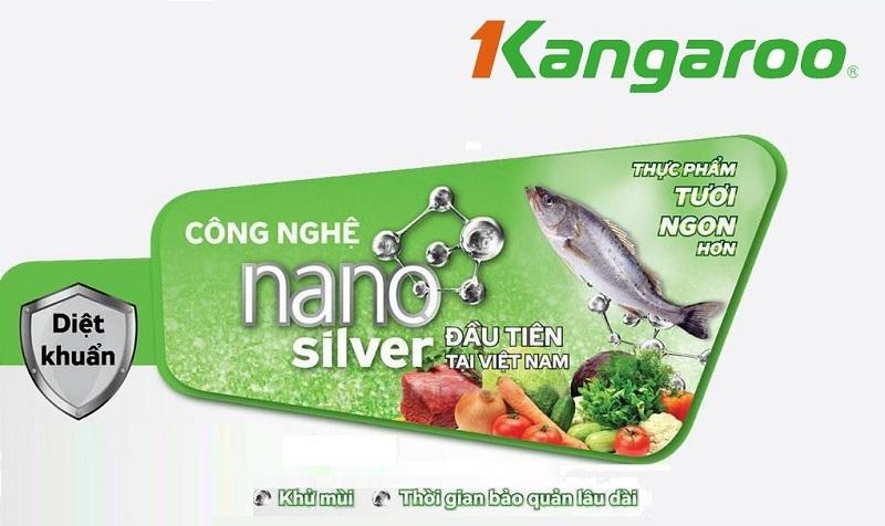 Công nghệ Nano Silver - Tủ đông Kangaroo KG298C2