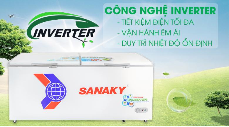Tủ đông Sanaky VH-8699HY3  - Inverter
