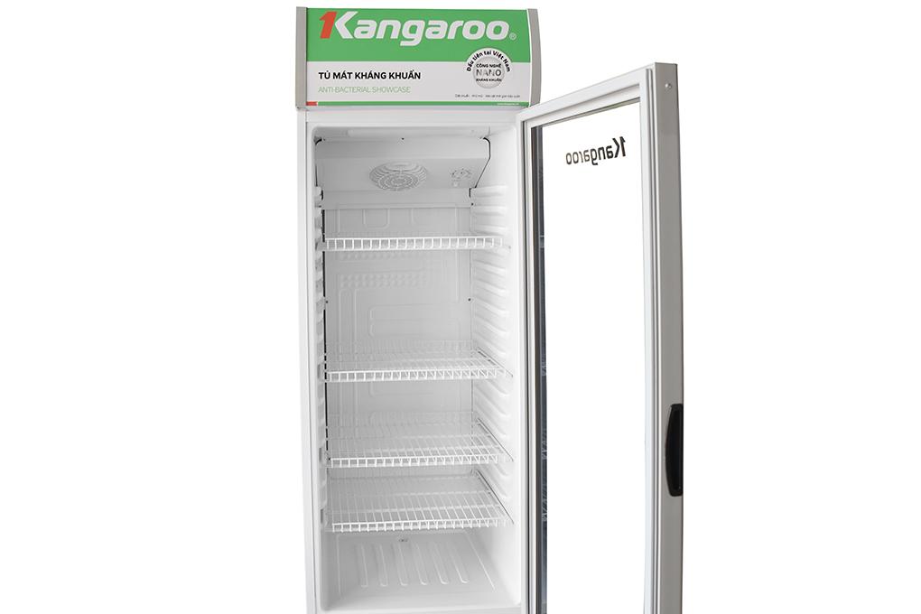Cánh cửa trong suốt, dung tích 258 lít - Tủ mát Kangaroo 258 lít KG258AT