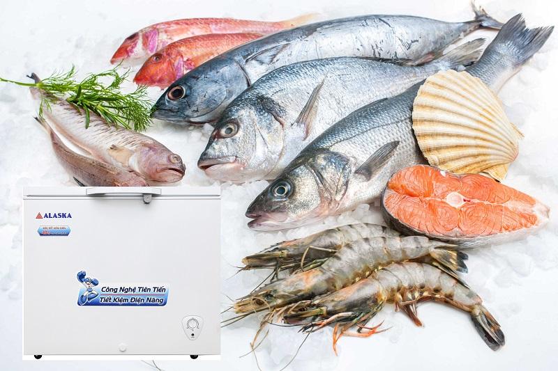 Công nghệ làm lạnh nhanh trực tiếp, nhanh chóng đông lạnh thực phẩm