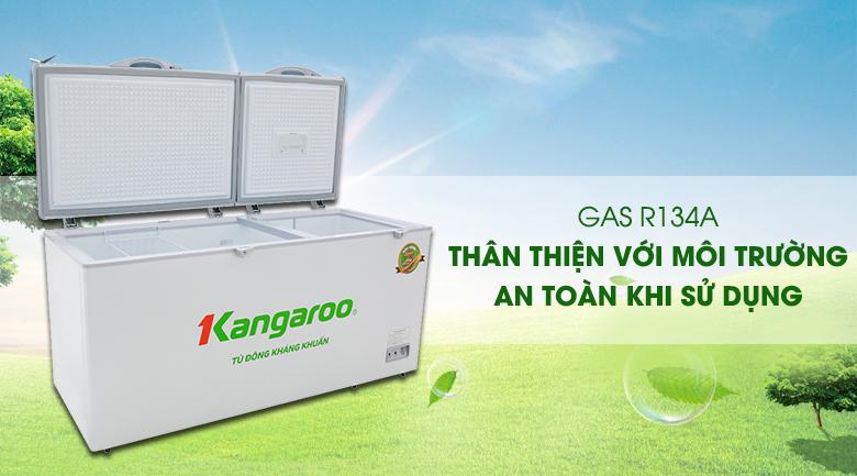 Tủ đông Kangaroo 490 lít KG 809C1 - An toàn sử dụng, thân thiện môi trường khi sử dụng gas R134a