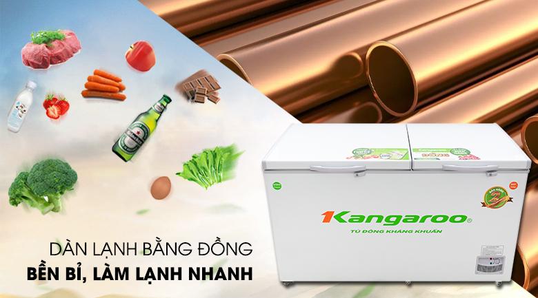 Tủ đông Kangaroo 471 lít KG 688C2 - Làm đông thực phẩm nhanh với công nghệ làm lạnh trực tiếp