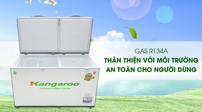 Tủ đông Kangaroo 471 lít KG 688C2 - An toàn khi sử dụng gas R134a thân thiện với môi trường