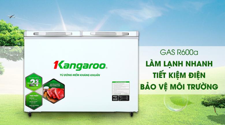 Tủ đông mềm Kangaroo 212 lít KG 328DM2 - Gas R600a