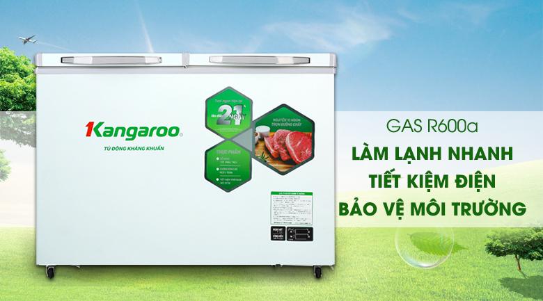 Tủ đông mềm Kangaroo 252 lít KG 400DM2 - Gas R600a