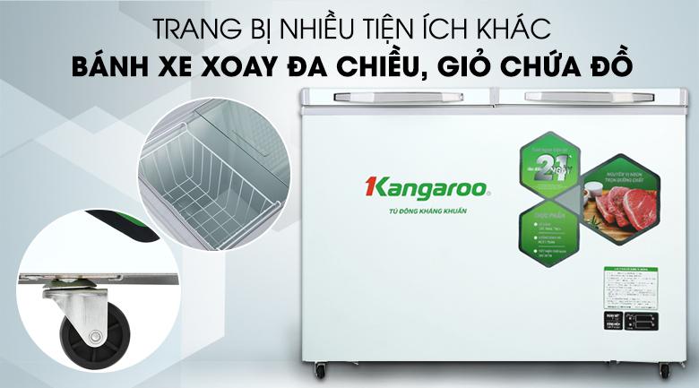 Tủ đông mềm Kangaroo 252 lít KG 400DM2 - Tiện ích khác