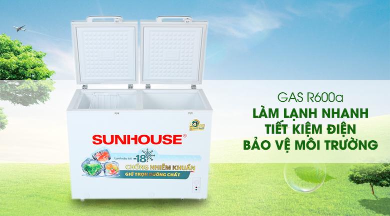 Tủ đông Sunhouse 225 lít SHR-F2272W2 - Gas R600a