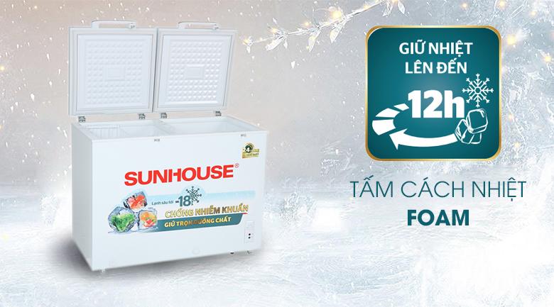 Tủ đông Sunhouse 225 lít SHR-F2272W2 - Tấm cách nhiệt Foam