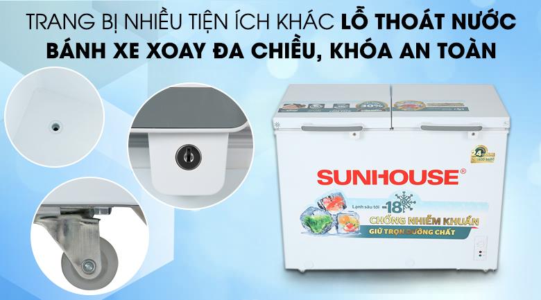 Tủ đông Sunhouse 225 lít SHR-F2272W2 - Tiện ích khác