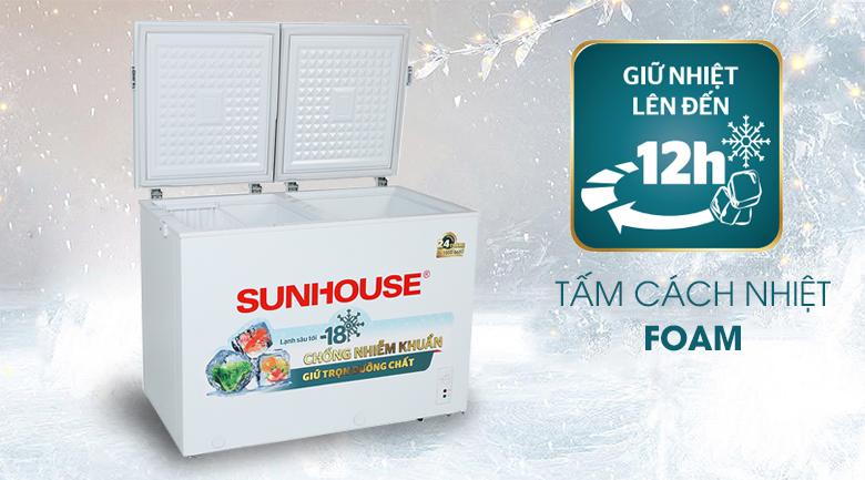 Tủ đông Sunhouse 255 lít SHR-F2362W2 - Tấm cách nhiệt Foam