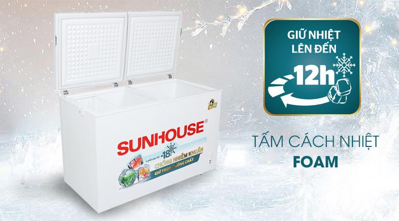 Tủ đông Sunhouse 300 lít SHR-F2412W2 - Tấm Foam cách nhiệt