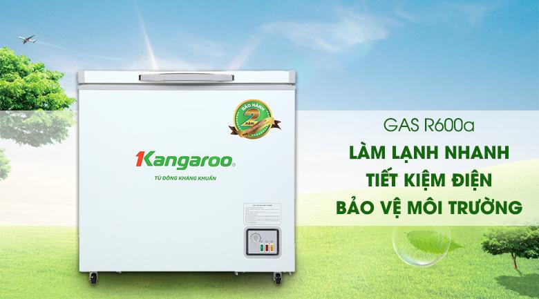 Tủ đông Kangaroo 140 lít KG 265NC1 - Gas R600a