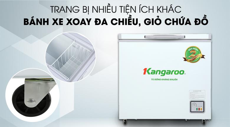 Tủ đông Kangaroo 140 lít KG 265NC1 - Tiện ích khác