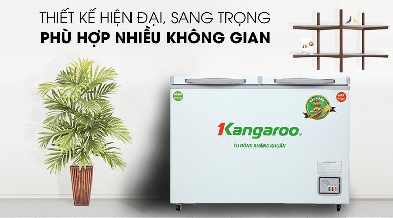 Tủ đông Kangaroo 192 lít KG 266NC2 - Thiết kế