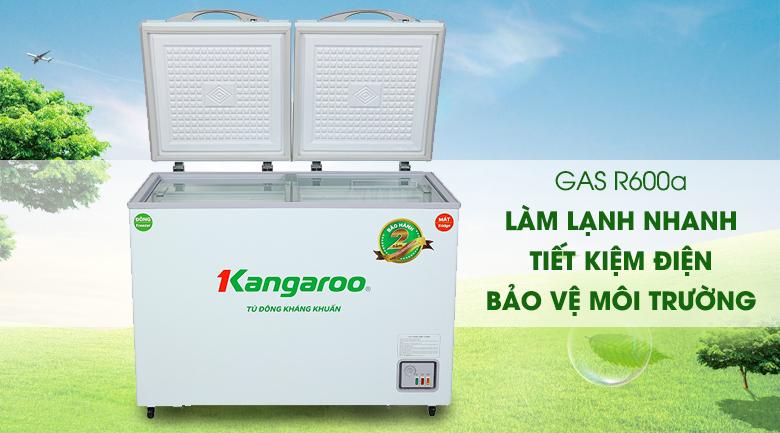 Tủ đông Kangaroo 212 lít KG 328NC2 - Gas R600a