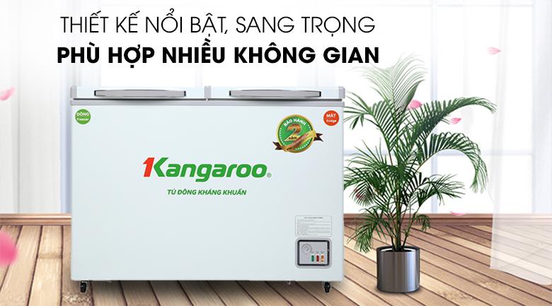 Tủ đông Kangaroo 212 lít KG 328NC2 - Thiết kế