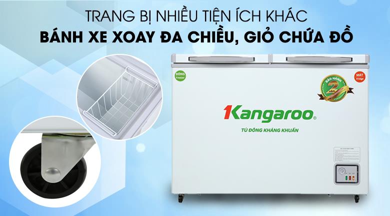 Tủ đông Kangaroo 212 lít KG 328NC2 - Tiện ích khác