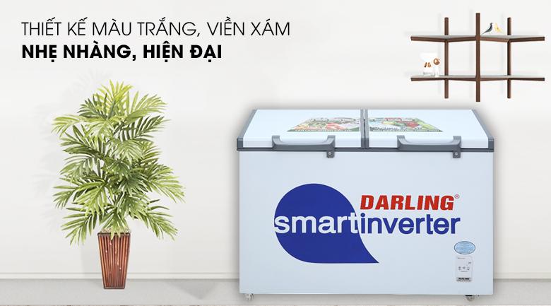 Thiết kế - Tủ đông Darling Inverter 260 lít DMF-3699 WSI-4