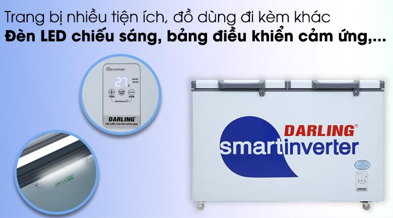 Các tiện ích khác - Tủ đông Darling Inverter 260 lít DMF-3699 WSI-4