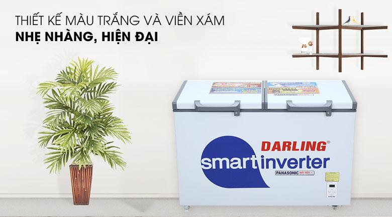 Tủ đông Darling Inverter 270 lít DMF-3799 ASI - Thiết kế