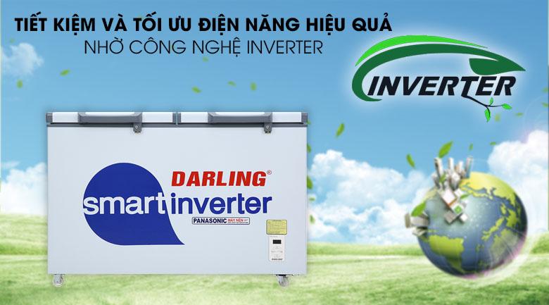 Tủ đông Darling Inverter 270 lít DMF-3799 ASI - Tiết kiệm điện với công nghệ inverter