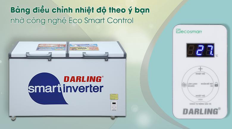 Tủ đông Darling Inverter 360 lít DMF-4799 ASI - Bảng điều khiển