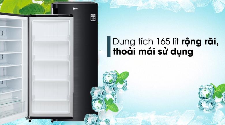 Tủ đông LG 165 lít GN-F304WB - Dung tích tủ lên tới 165 lít