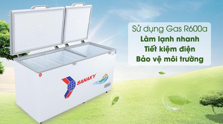 Tủ đông Sanaky 485 lít VH-6699W1 - Gas R600a
