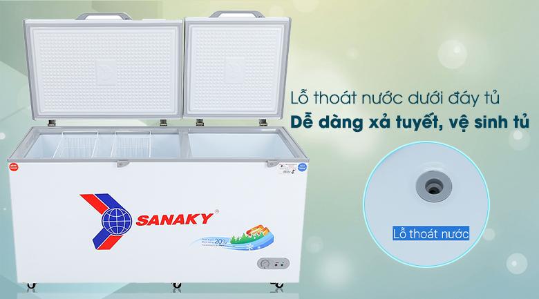 Tủ đông Sanaky 485 lít VH-6699W1 - Tiện ích