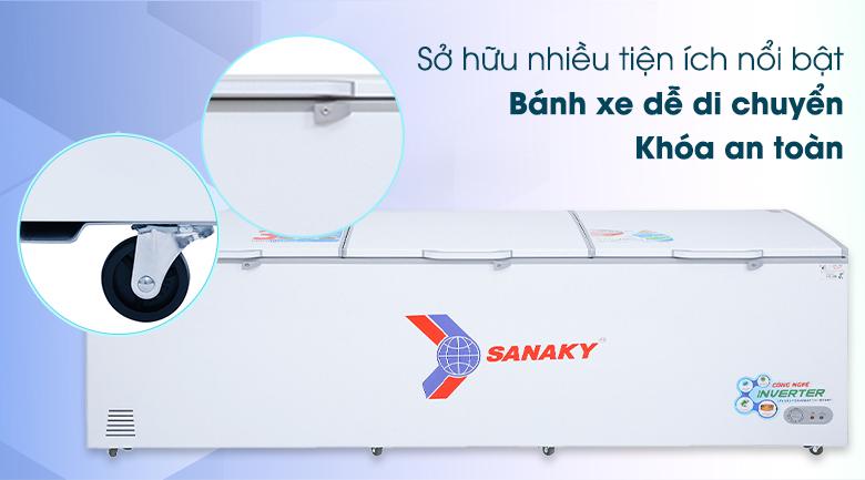 Tủ đông Sanaky 1143.5 lít VH-1399HY3 - Tiện ích