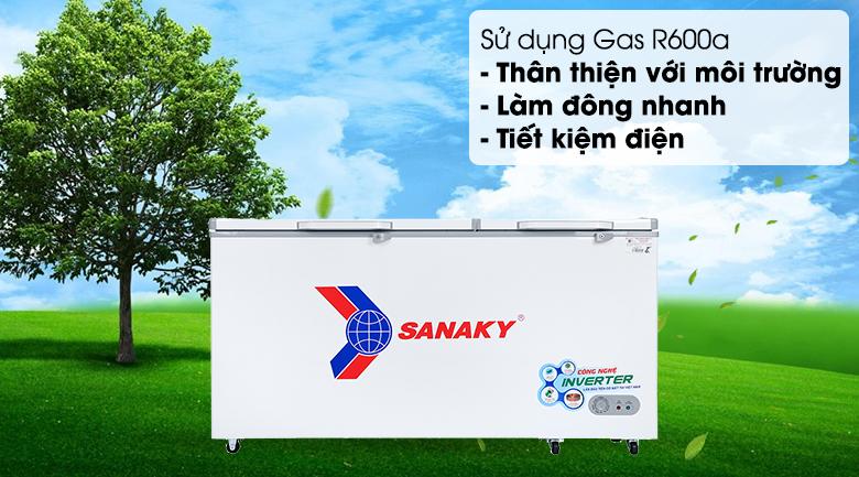 Tủ đông Sanaky 530 lít VH-6699HY3 - Gas R600a