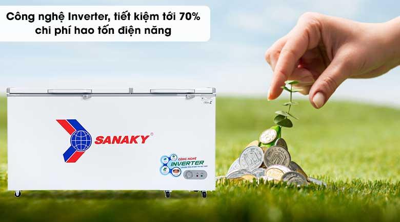 Tủ đông Sanaky 530 lít VH-6699HY3 - Inverter