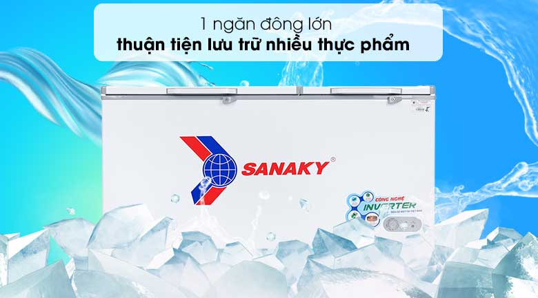 Tủ đông Sanaky 530 lít VH-6699HY3 - Thiết kế