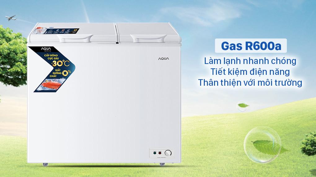 Tủ đông AQUA 211 lít AQF-C3102S - gas R600a