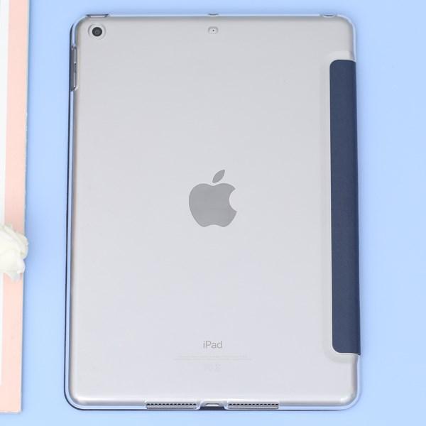 Ốp lưng MTB iPad Wifi (IPAD 9.7 2017) Nắp gập Silk Skin JM Xanh Navy