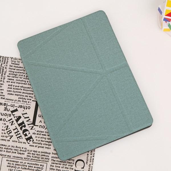 Ốp lưng iPad Air 2019 nhựa cứng viền dẻo MOSTER JM TPU PU Teal