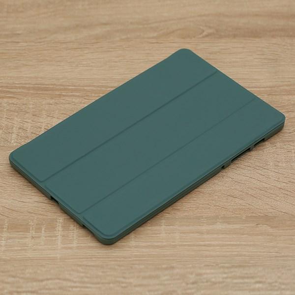 Ốp lưng Galaxy Tab S6 Lite 10.4 inch Nhựa cứng viền dẻo CAPTAIN U JM Xanh Teal