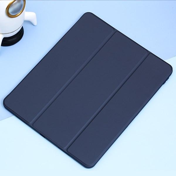 Ốp lưng iPad Pro 2021 12.9 inch Nhựa cứng viền dẻo Carbon Proud JM Navy