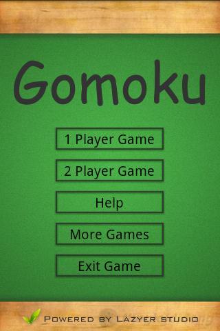 Gomoku 1 scrs1 Tải Game Gomoku   Game đánh cờ Caro Miễn Phí