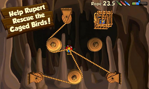 Rope Rescue Free scrs1 Tải Game Rope Rescue Free   Giải cứu những chú chim Miễn Phí