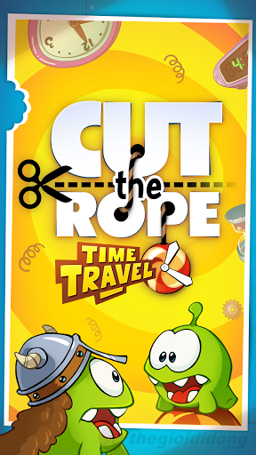Cut the Rope Time Travel scrs1 Tải Game Cut the Rope Time Travel Miễn Phí