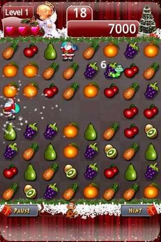 FruitedXmas scr3 Tải game Fruited Xmas  miễn phí