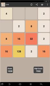 2048 scr2 Tải game 2048   Sức hút của thử thách trí tuệ mới nhất