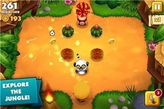 Tiki monkeys android scrs4 Tải Game Tiki Monkeys   Chú khỉ vui nhộn miễn phí