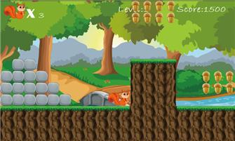 SquirrelRun scr5 Tải Game Squirrel Run miễn phí