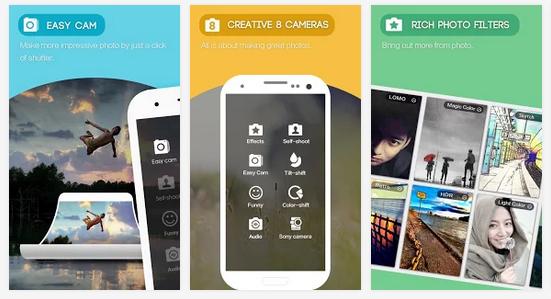 Giúp bạn có vẻ đẹp tươi trẻ mổi khi selfie với camera 360 ultimate