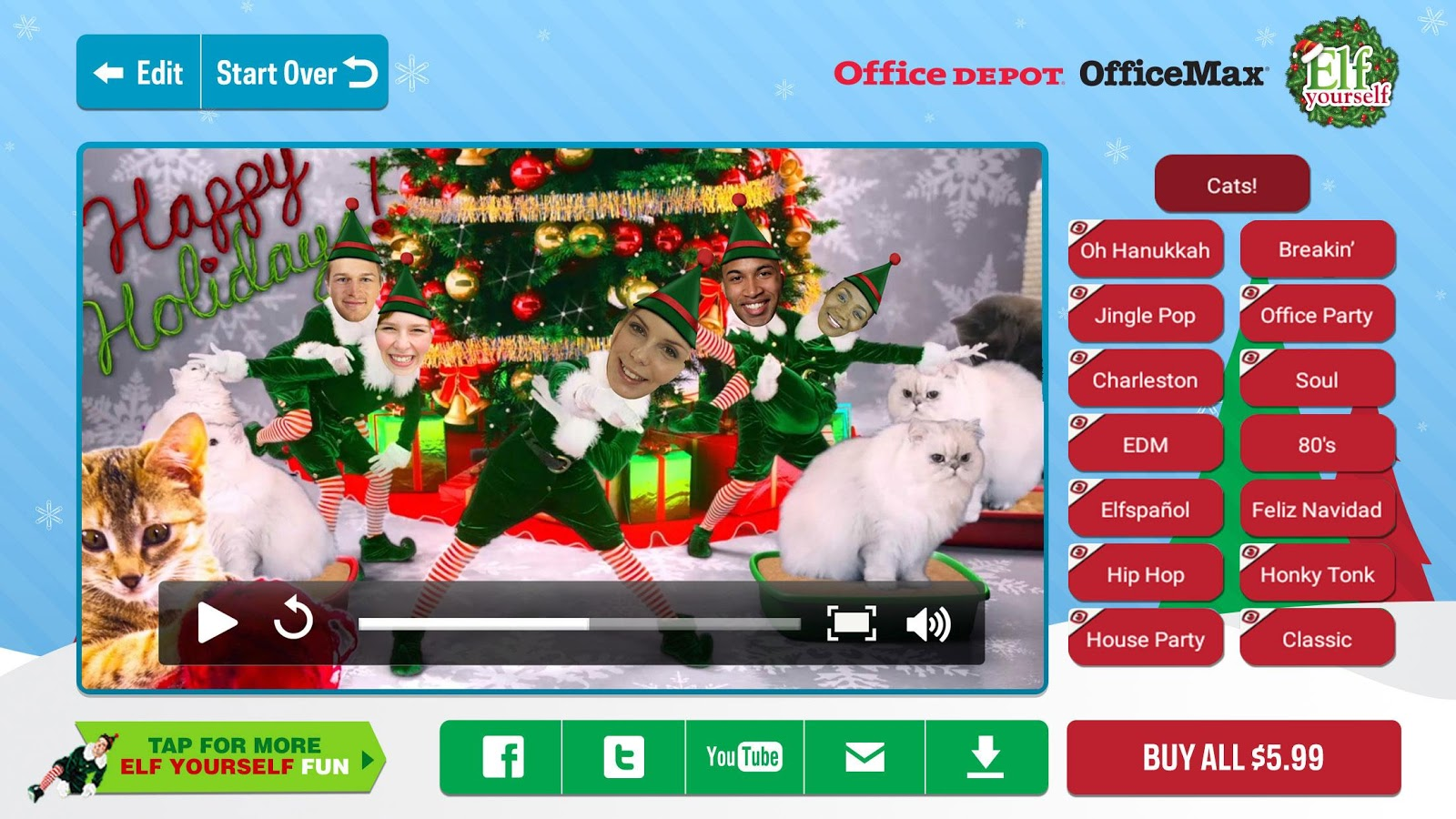 video elfyourself mac